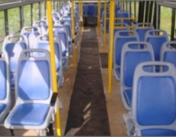 Plastic Molded seats in 2×2 or 3×2 configuration