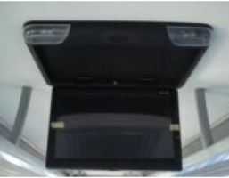 Roof mounted LCD