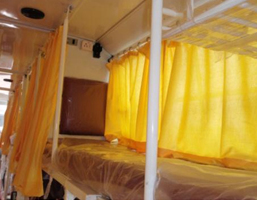 Berth Amenities – Single Berth